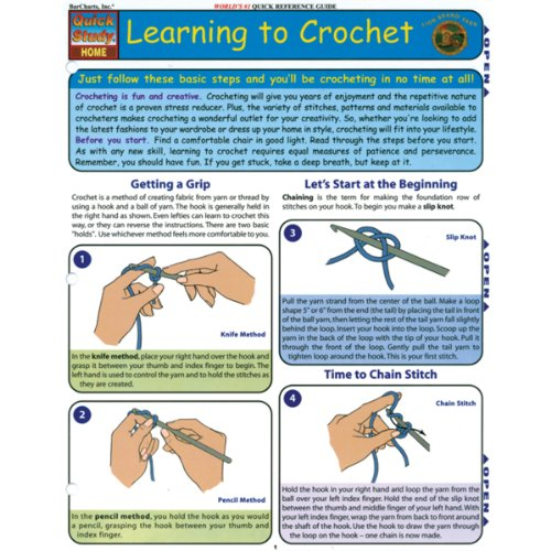 Learning To Crochet (Quick Study Home)