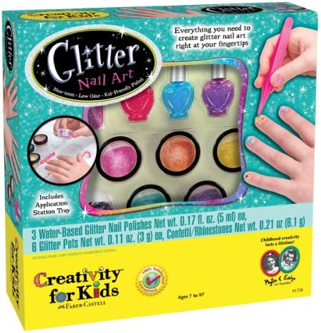 Creativity for Kids Glitter Nail Nail Nail Art Kit ca0ec2