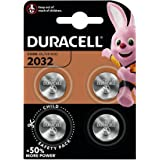 Duracell Pilas de botón de litio 2032 de 3 V, paquete de 4, con Tecnología Baby Secure, para uso en llaves con sensor magnéti