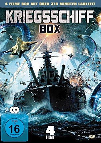 Kriegsschiff Box ( mit 4 Filmen ) [2 DVDs]