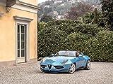 Alfa Romeo Disco Volante Spyder (2016) Car Print on 10 Mil Archival Satin Paper 16