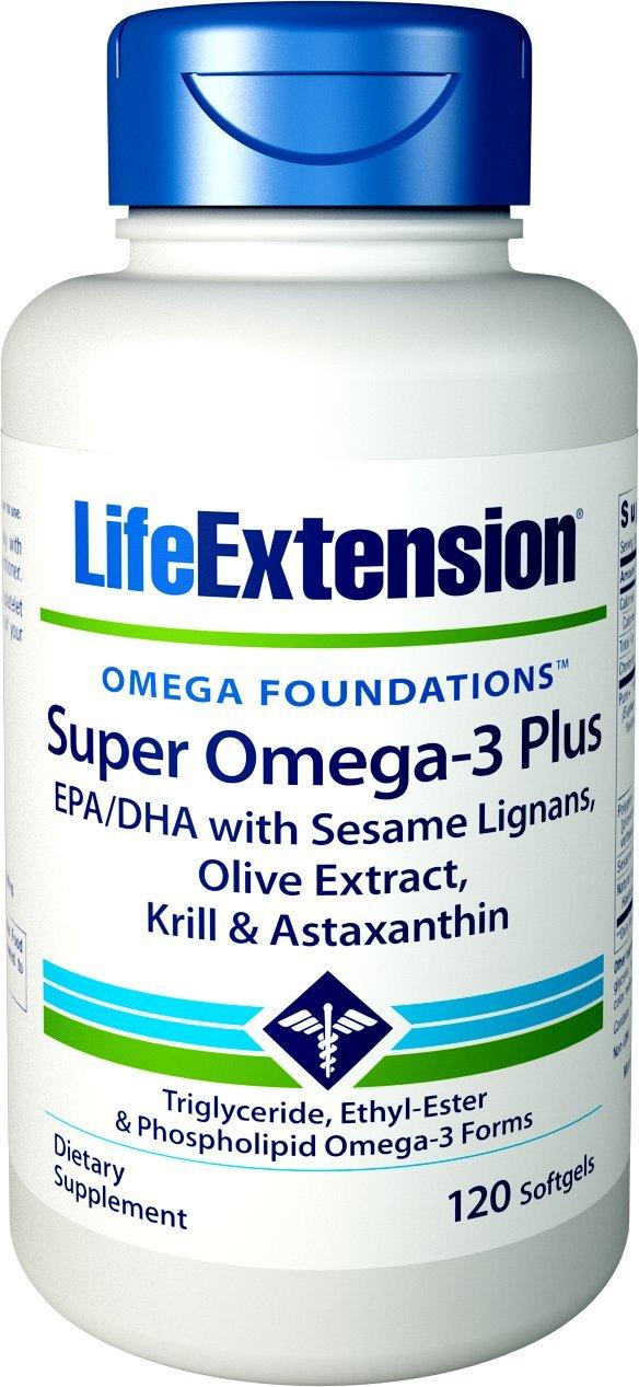 61DTSs22eVL - Super Omega-3 Plus 120 Softgels