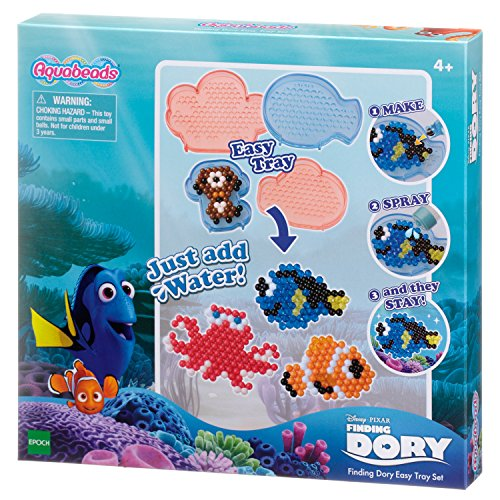 Aquabeads 30088 - Spielzeug-Finding Dory Easy Tray Set Easy Tray