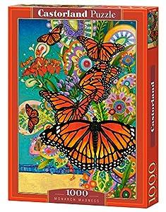 CASTORLAND Monarch Madness 1000 pcs Puzzle - Rompecabezas (Puzzle Rompecabezas, Fauna, Niños y Adultos, Butterfly, Niño/niña, 9 año(s))