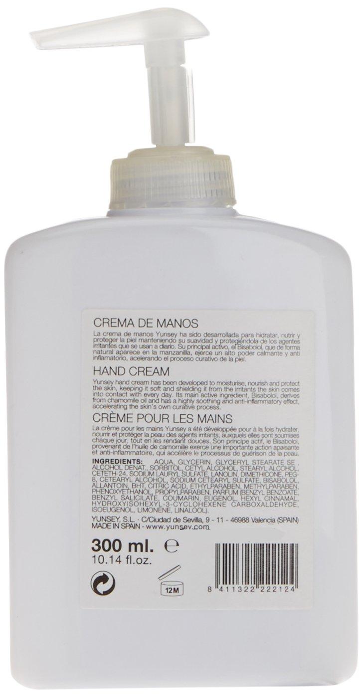 Yunsey – Crema de manos con dosificador – 300 ml