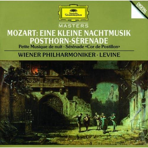 """Mozart: Eine kleine Nachtmusik, K. 525; Symphony No. 32 (Overture), K. 318; Serenade K. 320 """"Posthorn Serenade"""""""