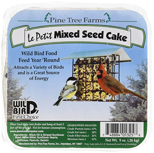 9 oz. LePetit Mixed Seed Cake (Pine Finch Feeder)