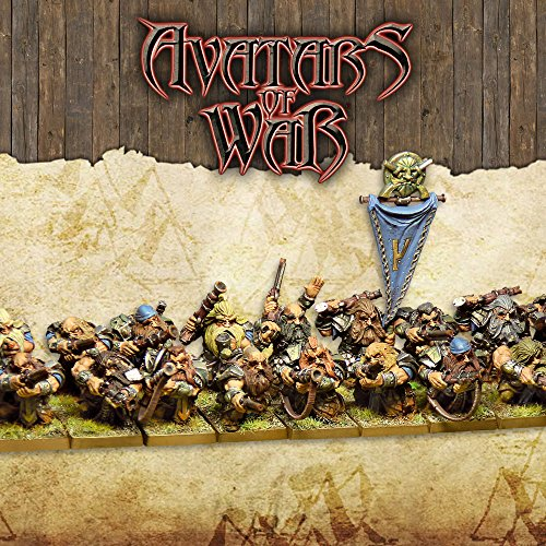 Avatars of War Dwarf Clan Marksmen