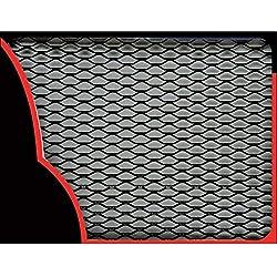 Sumex Raf2000 - Rejilla Aluminio 33X100 cm, Negra