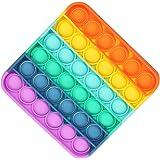 APPSOLS Pop it fidget toy, push pop antistress per adulti/bambini, Giocattolo Sensoriale per Autismo Bisogno Speciale Antistr