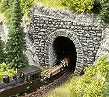Noch Tunnel-Portal, 1-gleisig, 23 x 12,7 cm