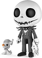 Funko 5 Star: Nightmare Before Christmas - Jack Skellington with Zero Collectible Figure, Multicolor