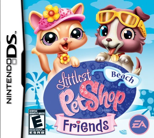 Littlest Pet Shop Friends: Beach - Nintendo DS by Electronic Arts - Pet Shop Ds-littlest