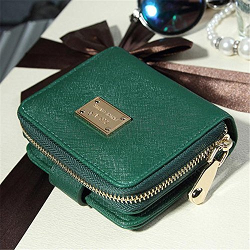 Longra Le donne della frizione della borsa Portafoglio Holder Breve Piccolo sacchetto della carta verde Venta Caliente En Línea Barata Venta Footaction cHiyv8
