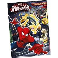 Spiderman - Cuaderno 8 láminas con stickers, 29 x 21 cm (Kids SPSTP)
