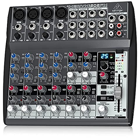 Behringer XENYX 1202FX Table de mixage
