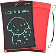 NEWYES NYWT850 Tablette d'Ecriture LCD, 8,5 Pouces de Longueur - Différentes Couleurs(Rouge)