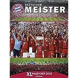 FCB Bayern München 2017 - Posterkalender, Fußballkalender, Fankalender  -  48 x 64 cm