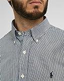 POLO RALPH LAUREN Slim-Fit Hemd S schwarz/weiss