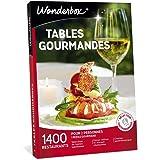 Wonderbox - Coffret cadeau - TABLES GOURMANDES – 1400 restaurants renommés, brasseries chics