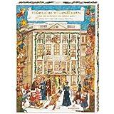 """Niederegger Adventskalender """"Café Niederegger"""" mit feinsten Pralinen und 32 Türchen, 1er Pack (1 x 525 g)"""