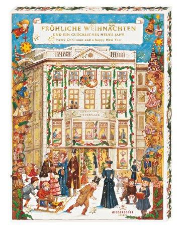 "Niederegger Adventskalender ""Café Niederegger"" mit feinsten Pralinen"