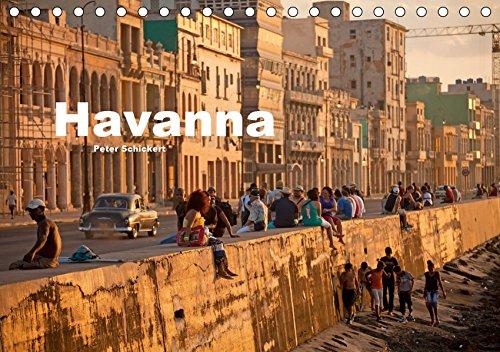 Havanna (Tischkalender 2019 DIN A5 quer): 13 Fotos aus der kubanischen Hauptstadt (Monatskalender, 14 Seiten ) (CALVENDO Orte)