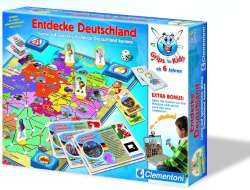 Preisvergleich Produktbild Clementoni 69898.1 - Entdecke Deutschland (Webcam-Funktion)