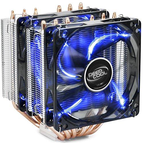 DEEPCOOL NEPTWIN V2.0 Prozessorlüfter, 6 Heatpipes, CPU-Kühler PWM Lüfter für Intel und AMD -