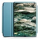 Apple iPad Mini 4 Smart Case hellblau Hülle Tasche mit Ständer Smart Cover Fels Stones Steine