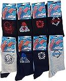 Spiderman Herren Socken, mehrfarbig