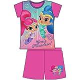 Juego de pijama corto de 2 piezas, 100% oficial, para niños y niñas, para niños de 1 a 12 años