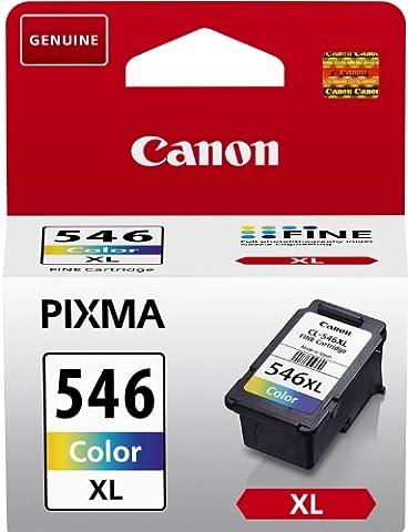 Canon - CL-546XL - Cartouche d'Encre Couleur - Cyan, Magenta, Jaune