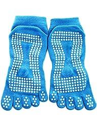 Bloque de yoga yoga, pilates Espuma ladrillo Stretch Salud Fitness ejercicio Herramienta Azul Blue sock