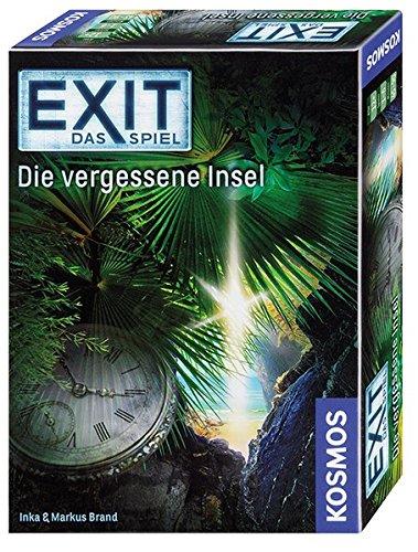 """KOSMOS Spiele 692858 - """"EXIT - Die vergessene Insel"""" Spiel"""