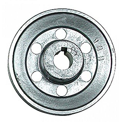 POULIE ALU POUR MOTEUR ELECTRIQUE Ø 120 mm Ø AXE 19 mm