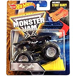 Hot Wheels Monster Jam 1:64 Scale - Batman with Stunt Ramp #41 by Monster Jam
