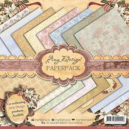 Amy Design Paper Pad Vintage Christmas -