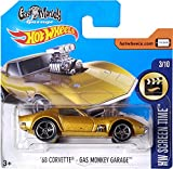Hot Wheels 68 Corvette - Gas Monkey Garage HW Screen Time 3/10 (Short Card)