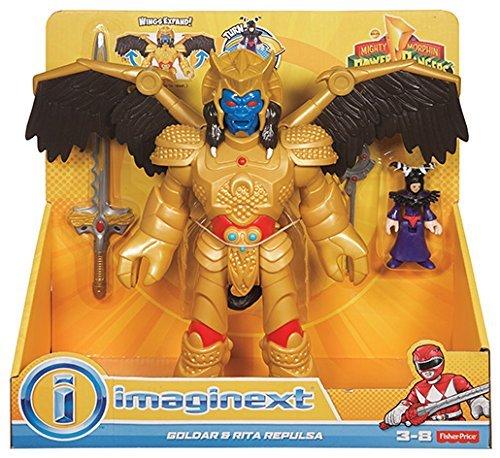 Imaginext Price cjp65Power Rangers GOLDAR und Rita Repulsa Figur