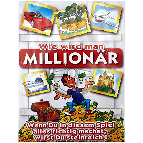 Preisvergleich Produktbild Brettspiel ~ Wie wird man Millionär ~ Partyspiel Partygame Gesellschaftsspiel