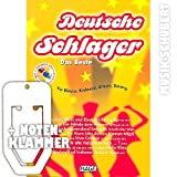 Deutsche Schlager DAS BESTE (+ 2 Playback CDs) inkl. praktischer Notenklammer - Die 30 besten und beliebtesten deutschen Schlager von GRIECHISCHER WEIN bis EIN STERN DER DEINEN NAMEN TRÄGT arrangiert für Klavier, Keyboard, Gitarre und Gesang von leicht bis mittelschwer (Taschenbuch) von Helmut Hage (Noten/Sheetmusic)