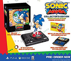 Sonic Mania : Collector's Edition - Xbox One [Edizione: Francia]