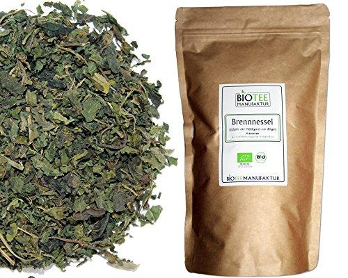 Brennnessel-Tee -Bio, Brennnesselblätter, Kräutertee lose (1 x 100g)