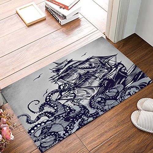 Women Trend Fußmatte Home Dekorative Innen Tür Matte Antirutsch Eingang Teppiche Weich Waschbar Teppiche für Wohnzimmer Badezimmer Küche 39,9x 59,9cm/45,7x 76,2cm/50,8x 80cm 15.7