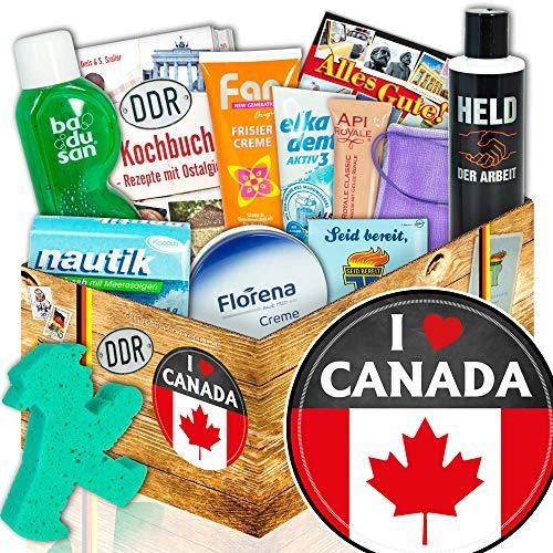 Geschenk Pflegeset DDR | Kanada Geschenkbox | I love Canada