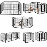 Milo & Misty Heavy Duty Playpen. 8 Panel Folding and Portable Outdoor Cage