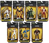 Marvel Figura de Acción X-Men Warlock Legends - Wave - Set de 7 Piezas - 6-Pulgadas