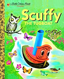 Scuffy the Tugboat (Little Golden Book) by [Crampton, Gertrude]