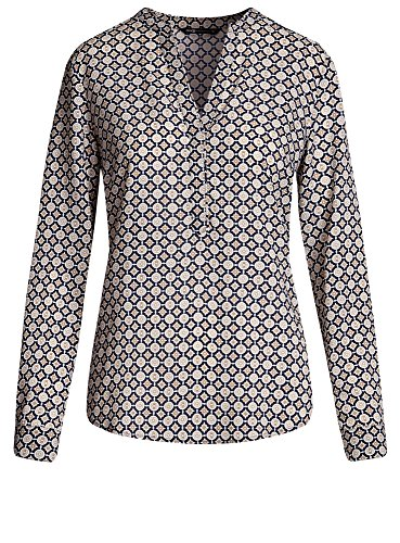 oodji Collection Femme Blouse en Viscose Imprimée Rose (4100L)